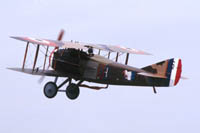 The Spad 13 of Eddie Rickenbacker